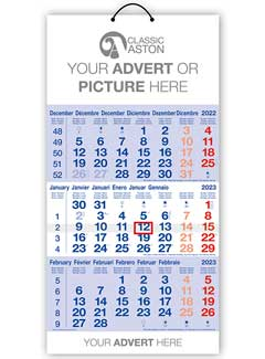 Cal 601 Compact Shipping Calendar from Promocalendars