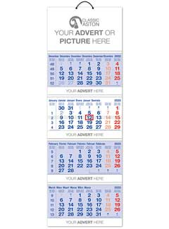 Cal 602 Quad-Monthly Shipping Calendar from Promocalendars