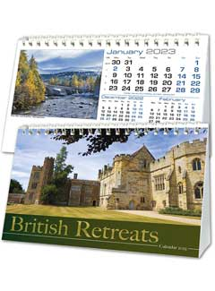 Britain In View Desk Calendar from Brunel