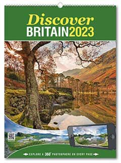 Discover Britain from the Rose Category of U.K. Calendars