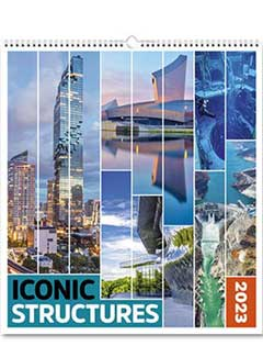 Iconic Structures from the Rose Category of  Themed Calendars